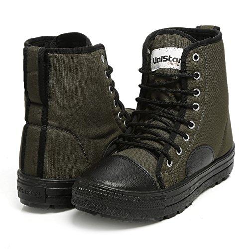 UK/India (44 EU) (E-1001) | Green boots