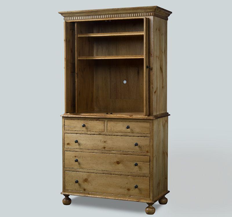 Eddy West Chest On Tall Cabinet, Eddy West Furniture Company