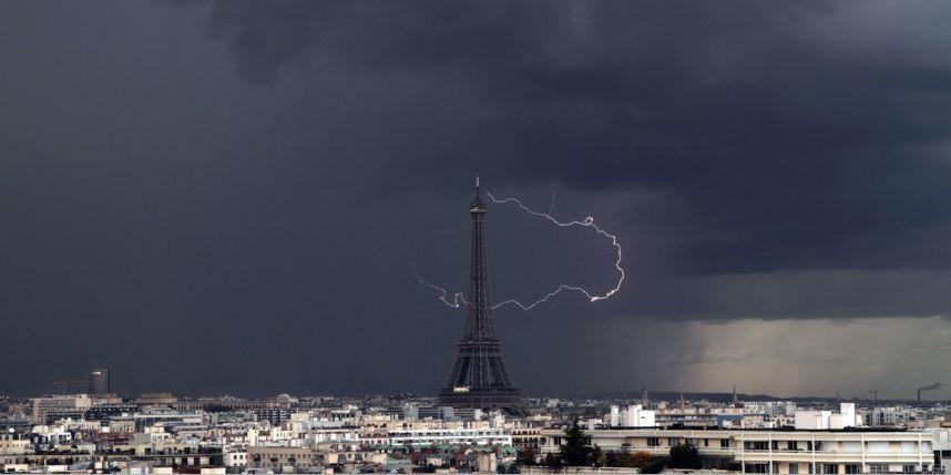 Météo France Orages Et Grêle Vendredi Matin à Paris En Ile De