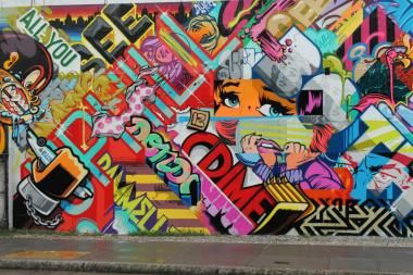 Graffiti Artists Pose And Revok Announced Their Visit To