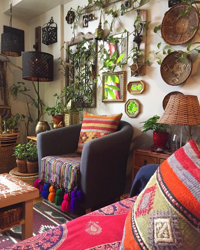 Pin By A Charming Project On Bohemian Home Decor Bohemian Style