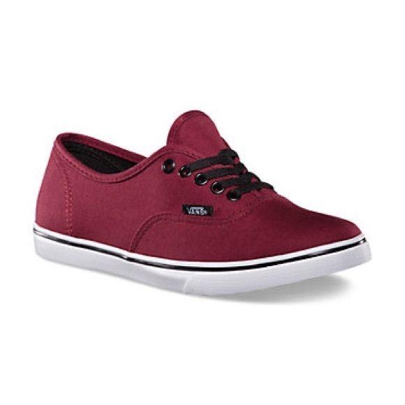 Vans AUTHENTIC LO PRO TAWNY PORT/TRUE WHITE. Vans CanadaTop ShoesShoes ...