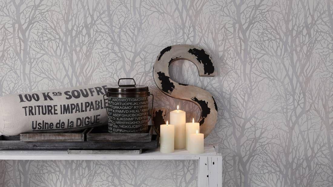 Junges Wohnen; AS Création Vliestapete 300941 Tapete Pinterest - wohnzimmer creme grun