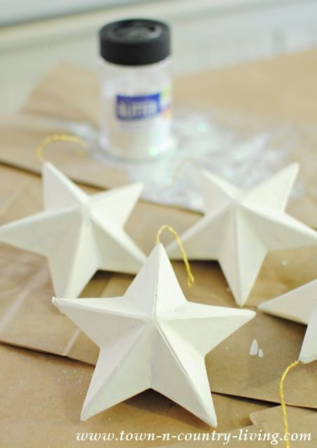 DIY Paper Mache Stars