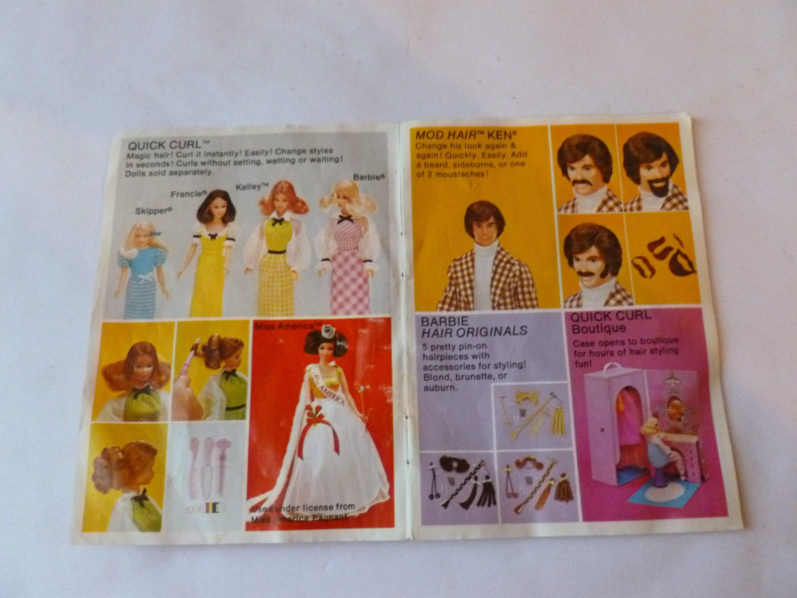 1973 Barbie - Catalogue / Brochure / Leaflet - vintage dolls clothes | eBay