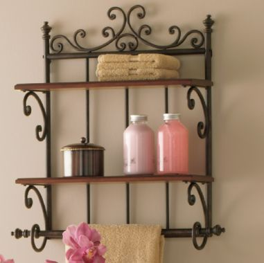 Shelf for bathroom | house tips | Pinterest | Parisians, Shelves and ...