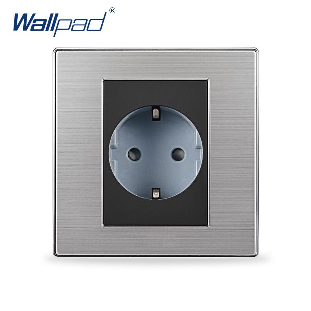 2017 Hot Sale 2 Pin Socket Wallpad Luxury Wall Power Socket EU ...