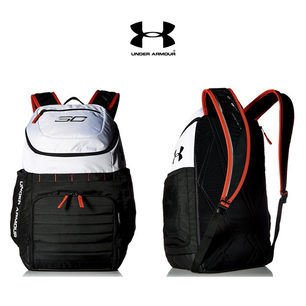 930dc0c1d0 The SC30 Undeniable Backpack from Under Armour is a popular basketball bag!  Click for