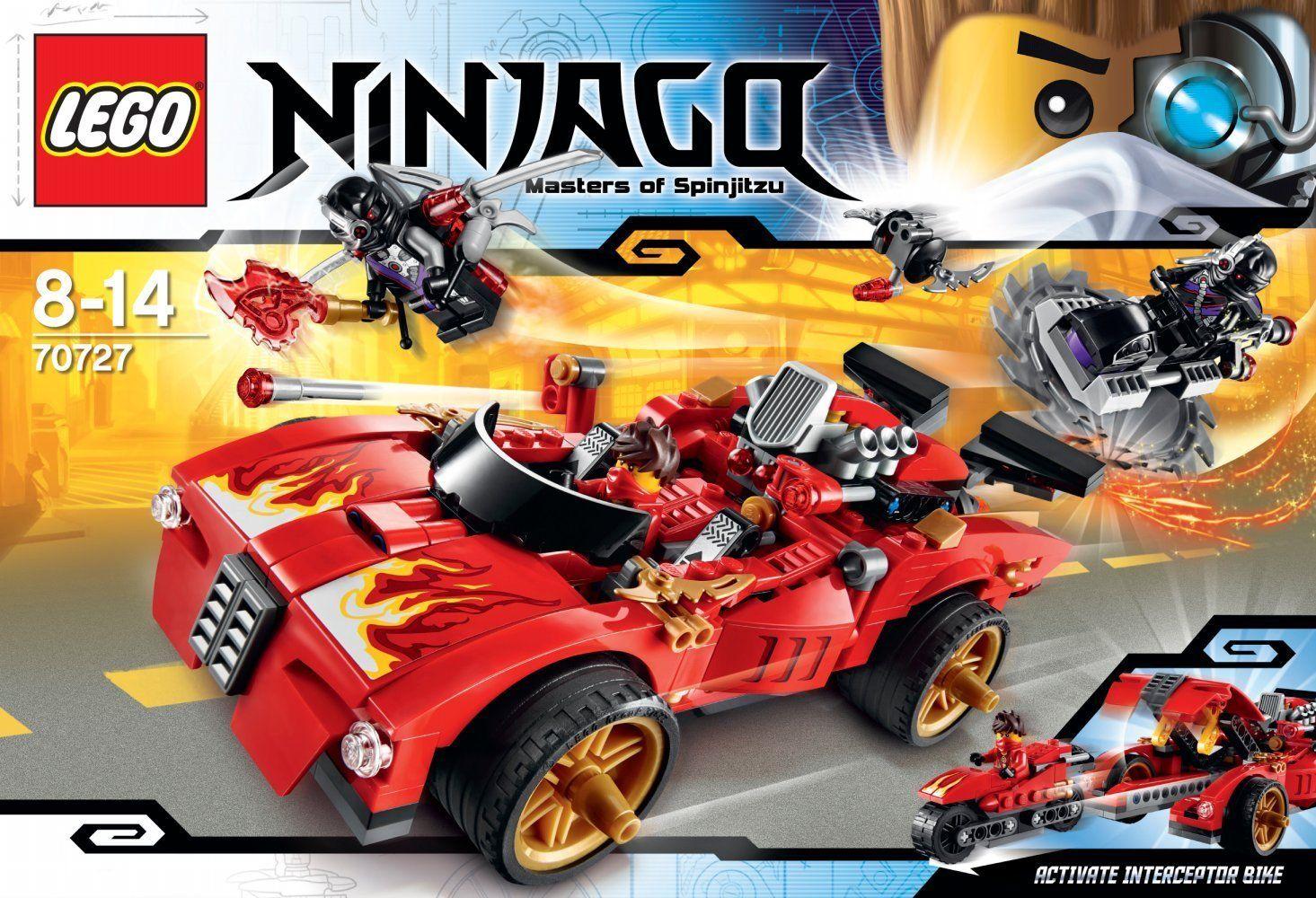 Lego KAI Rebooted Ninja Minifigure NINJAGO 70727 70721