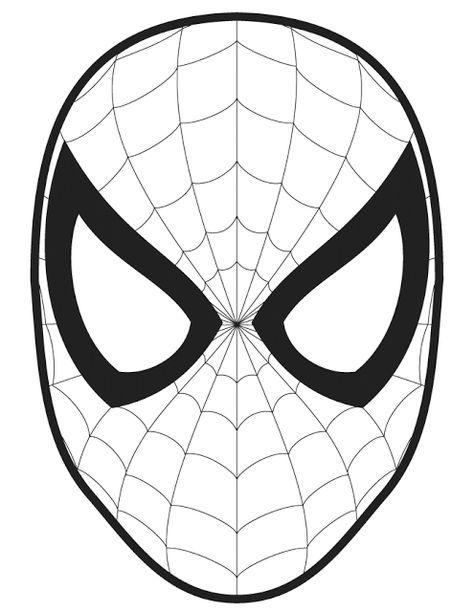 Easy Spiderman Coloring Pages : spiderman, coloring, pages, Superhero, Spiderman, Pumkin, Carving, Pattern, Templates, Download, Pumpkin, Stencil,, Pumpkin,