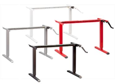 Modtable Crank Height Adjustable Desk From Multitable