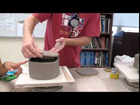 Hand-Building Lid Demo - YouTube