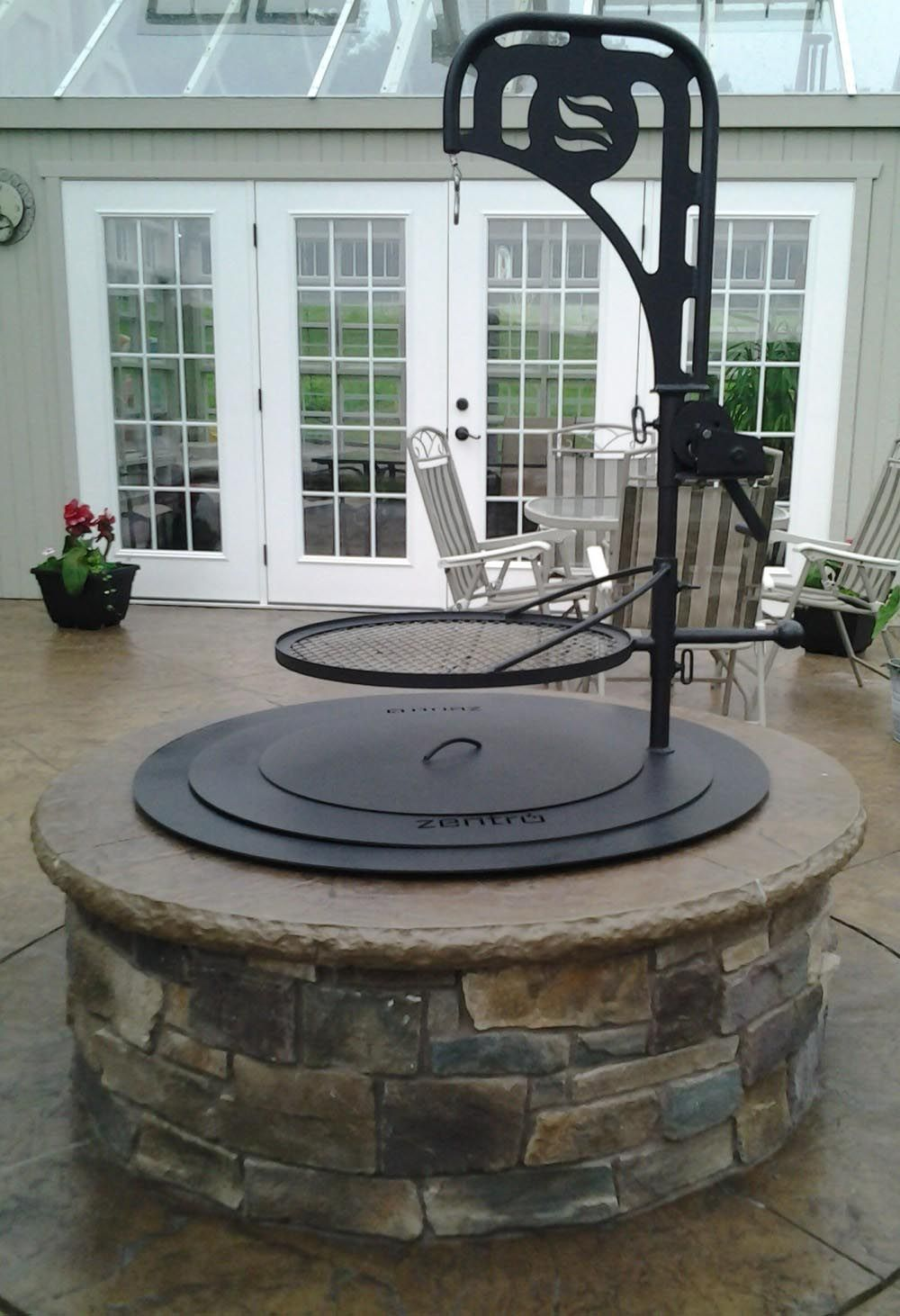 Photo of Fire pit grill accessories