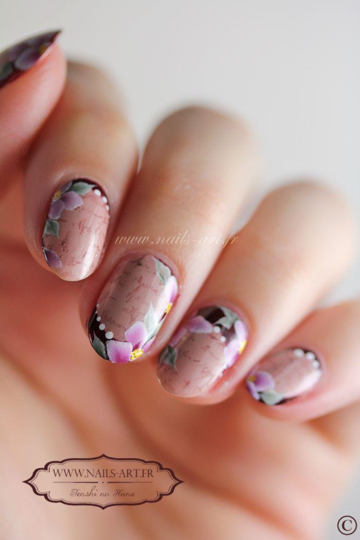Tenshi Nail Nails Nailart Bej Ongles Vernis Ongles și Vernis