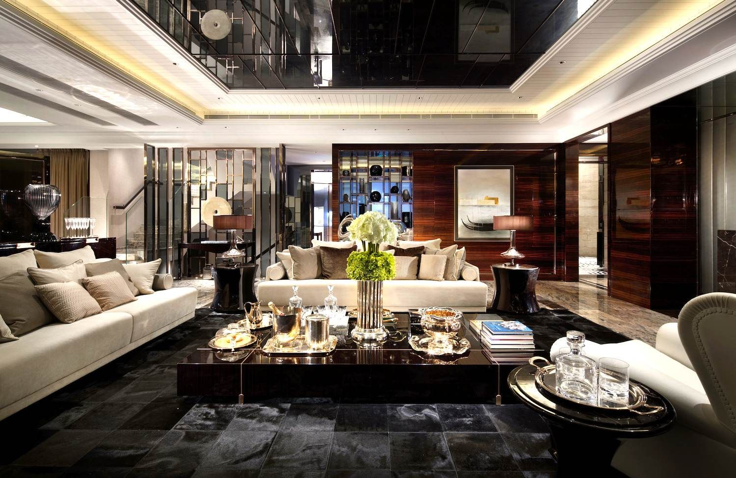LUXURY SITTING ROOMS RICH FAMOUS