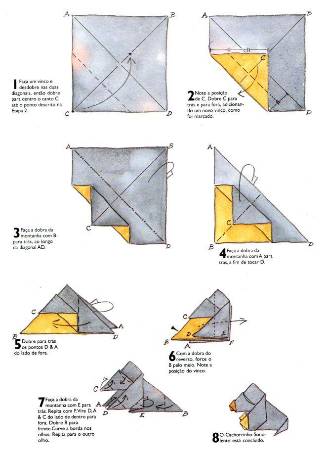 quiui.diagrama | origami 2 | Pinterest | Diagramas de origami ...