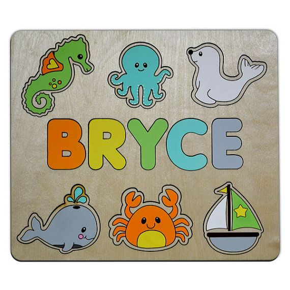 Off the shore personalized wooden name puzzle childs custom puzzle off the shore personalized wooden name puzzle childs custom puzzle for toddlers personalized baby gift christmas present id464152600 negle Image collections