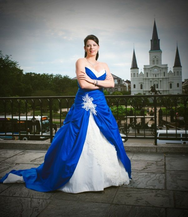 Cool White And Royal Blue Wedding Dresses 2017 2018 Check More At Http 24myfashion Com Colored Wedding Dresses Blue Wedding Dress Royal Blue Wedding Dresses