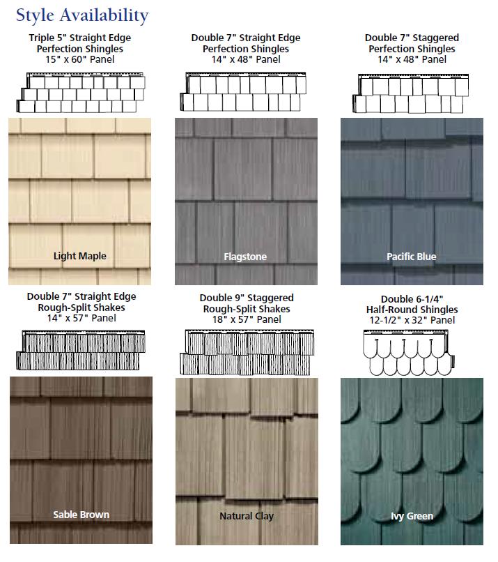 Cedar Siding Color Ideas: Vinyl Shake Siding On Pinterest