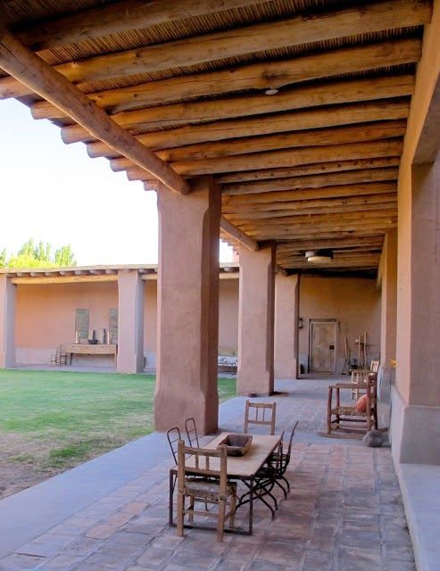 Estilo rustico galerias rusticas owsam in 2019 casas - Terrazas de madera rusticas ...