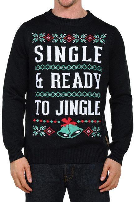 Single And Ready To Jingle - Unisex Ugly Christmas Sweatshirt xSiE52