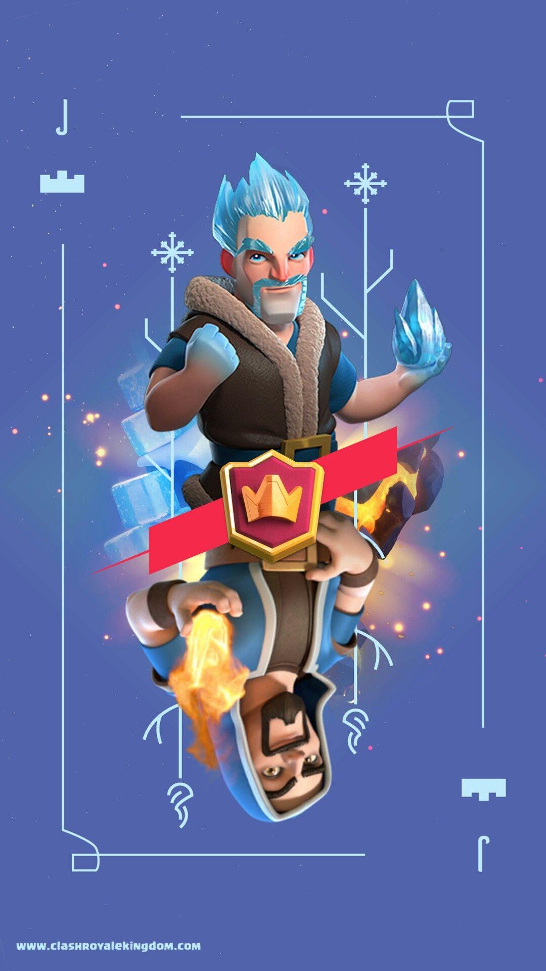 Ice Vs Fire Fondos De Pantalla De Juegos Clash Royale Dibujos Clash Royal Cartas