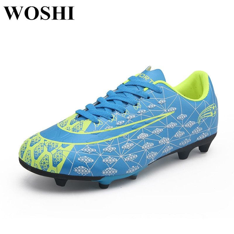 aaf49beed New Style Men Soccer Shoes Indoor Professional Men Football Shoes Action  Fast Indoor Superfly Breathable Chuteira