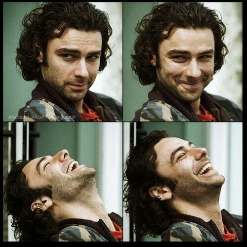 Well, you've got me burning. Aidan Turner as Mitchell