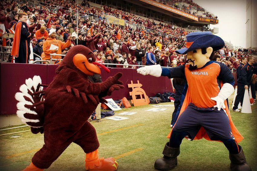 VT vs UVA Virginia tech hokies, Virginia tech, State