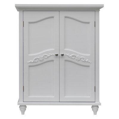 Elegant Home Versailles Double Door Floor Cabinet Elg 550 Durable Products Bathroom Floor Cabinets House Styles Elegant Homes