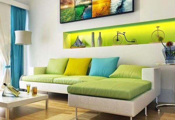 Desain Ruang Tamu X Minimalis Ideal Desain Ruang