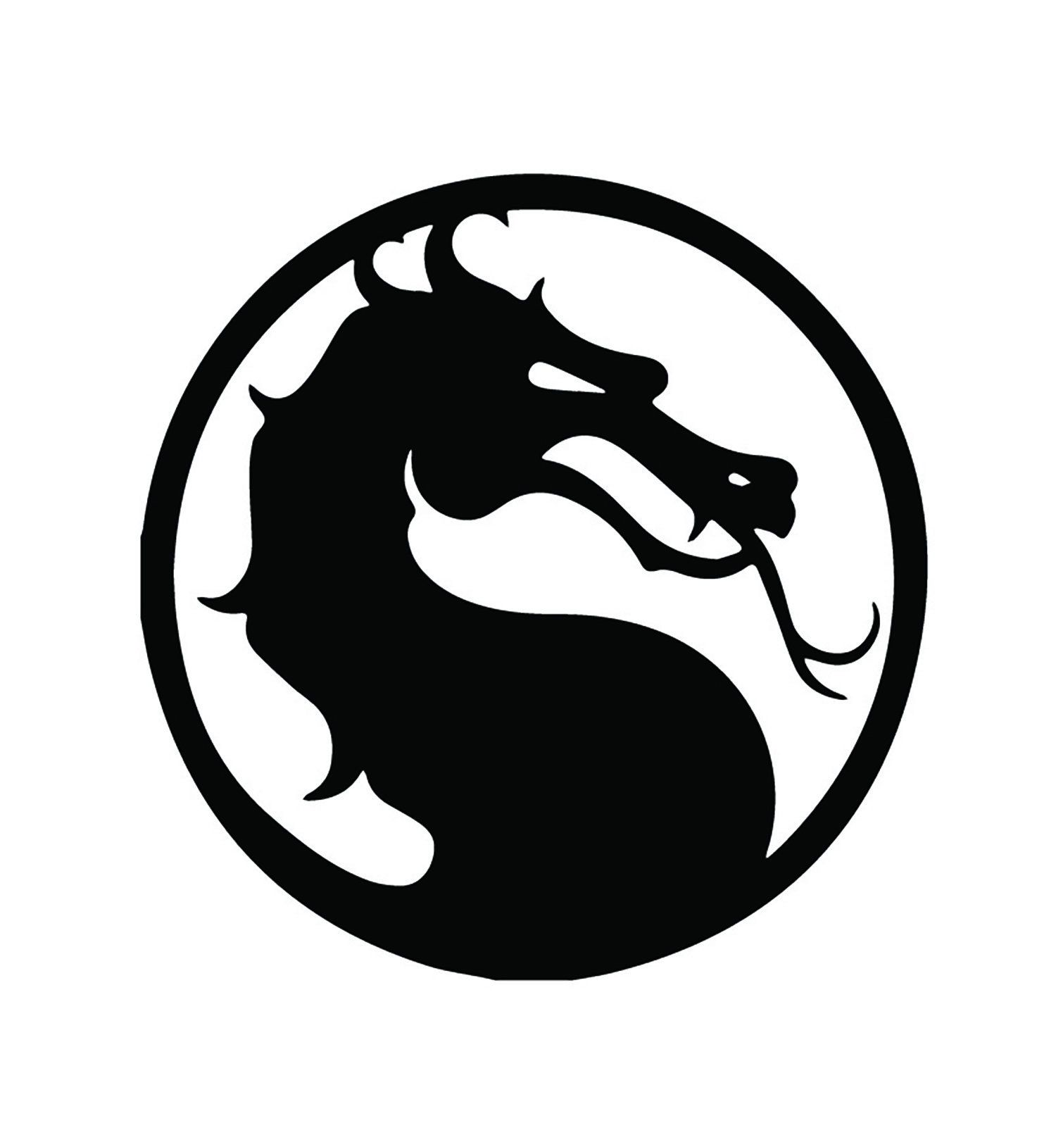 Holographic Mortal Kombat Vinyl Sticker Etsy In 2020 Mortal