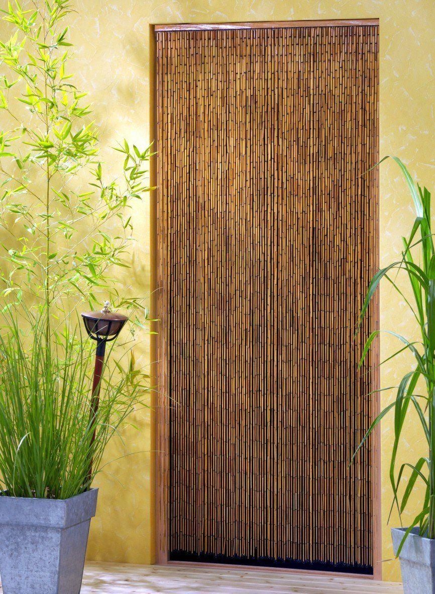 door curtains bamboo curtains