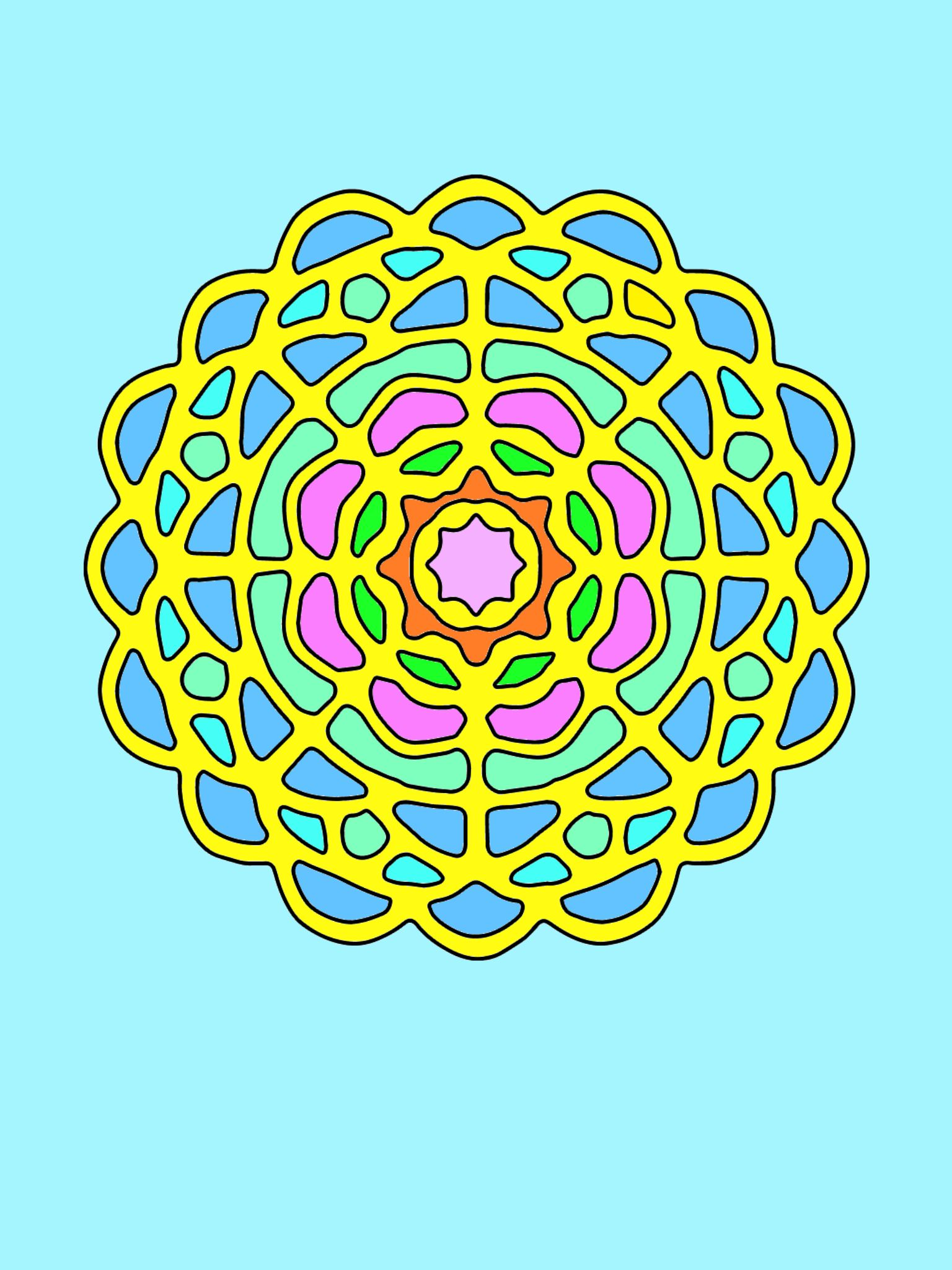 My Coloring Via Best Mandala Book Free Fun Pages For Adult Apps Download