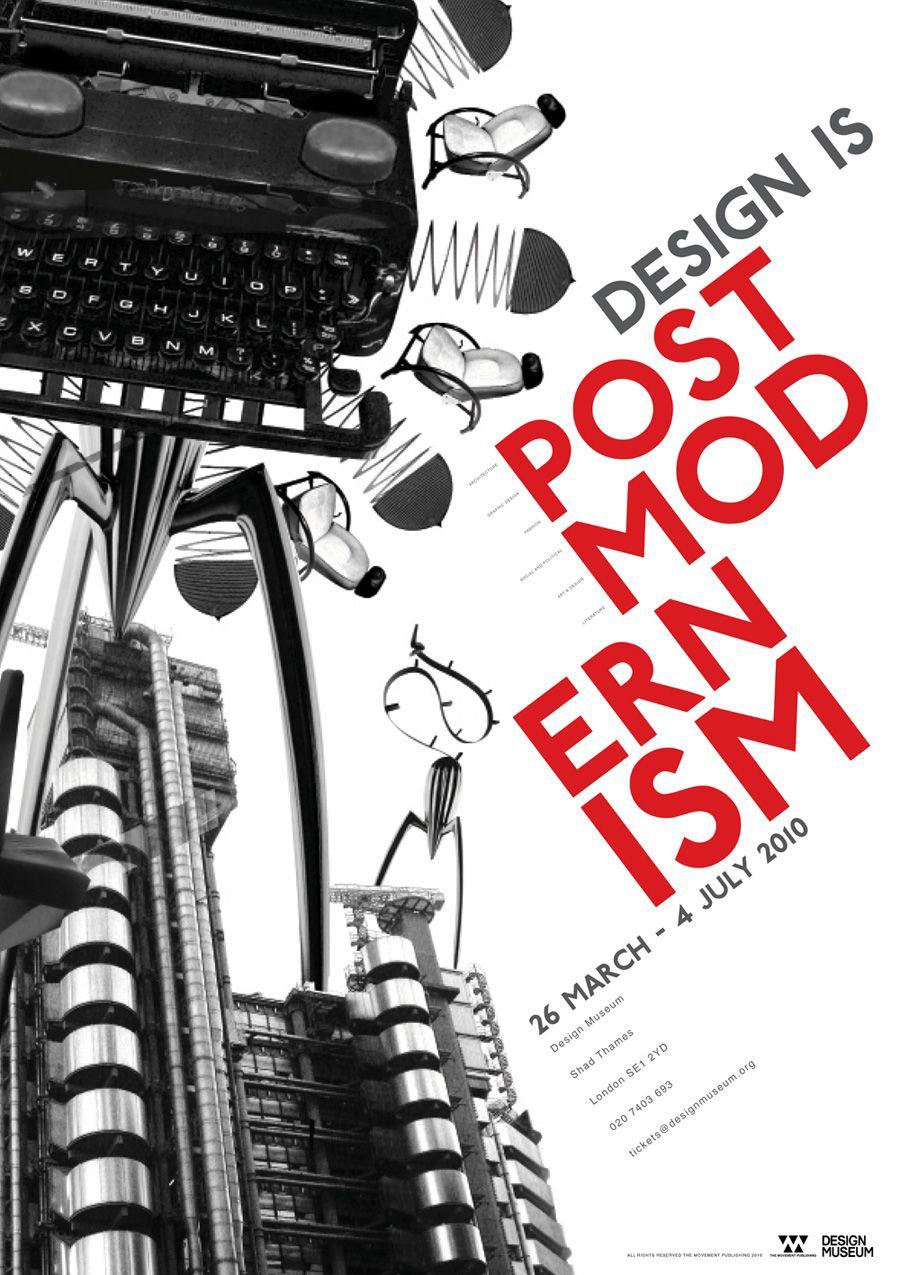 Postmodern Design Festival Poster. I Like How The Font Is