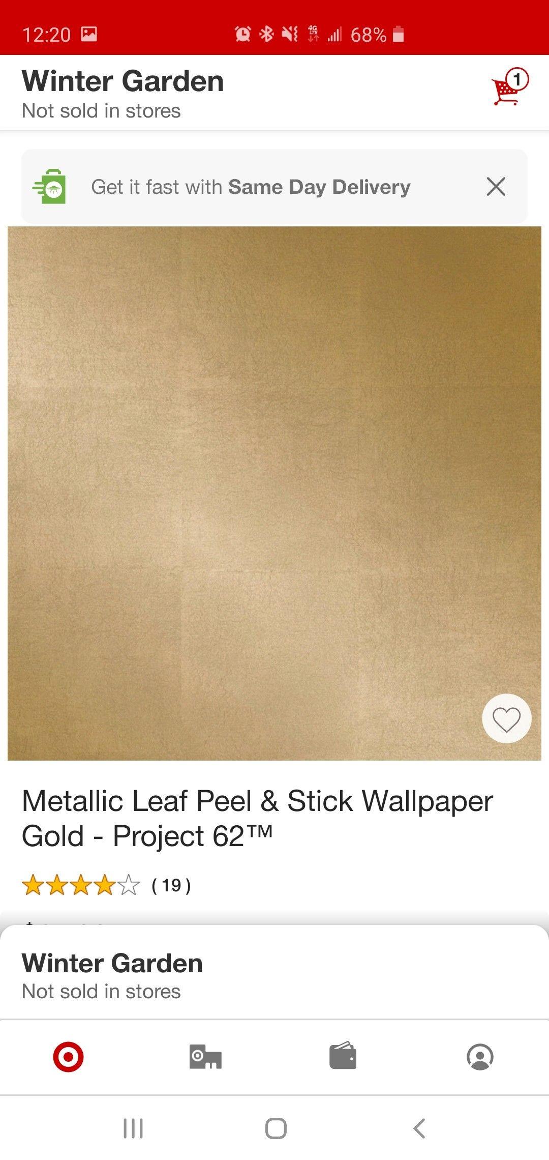Wall Waist Height Border Peel And Stick Wallpaper Winter Garden How To Get
