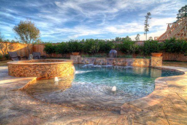 Beach Entry Pool Designs | 18 Divine Beach Entry Pool Design Pools Pinterest