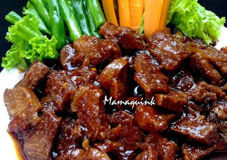 Resep Bistik Daging Oleh Mamaquink Resep Resep Resep Masakan Resep Daging