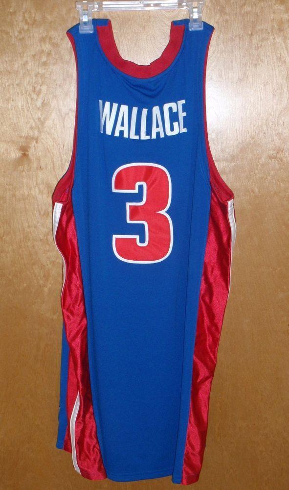 Men s Nike Detroit Pistons  3 Ben Wallace NBA Basketball Jersey Size XL -  GIFT!  Nike  DetroitPistons 5ff8a754e