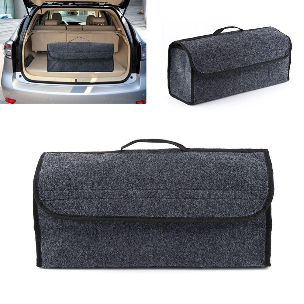 Car seat back rear storage bag trunk organizer holder