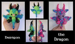 Dragon Crochet Pattern Mini by peggytoes