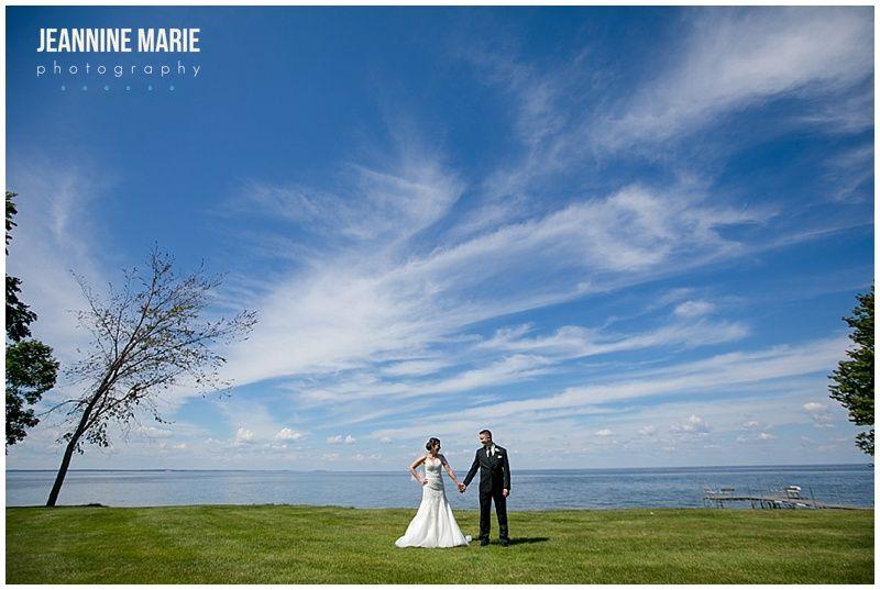 Izatys Resort, outdoor wedding, Minnesota wedding, wedding ...