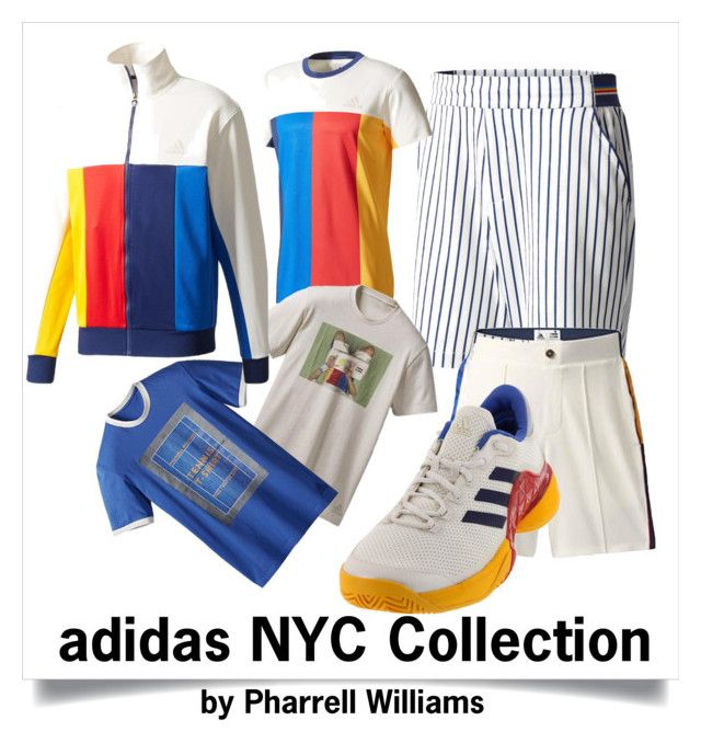 New Men S Adidas Tennis Gear By Pharrell Williams By Tennisexpress Tennis Clothes Adidas Tennis Outfit Adidas Men