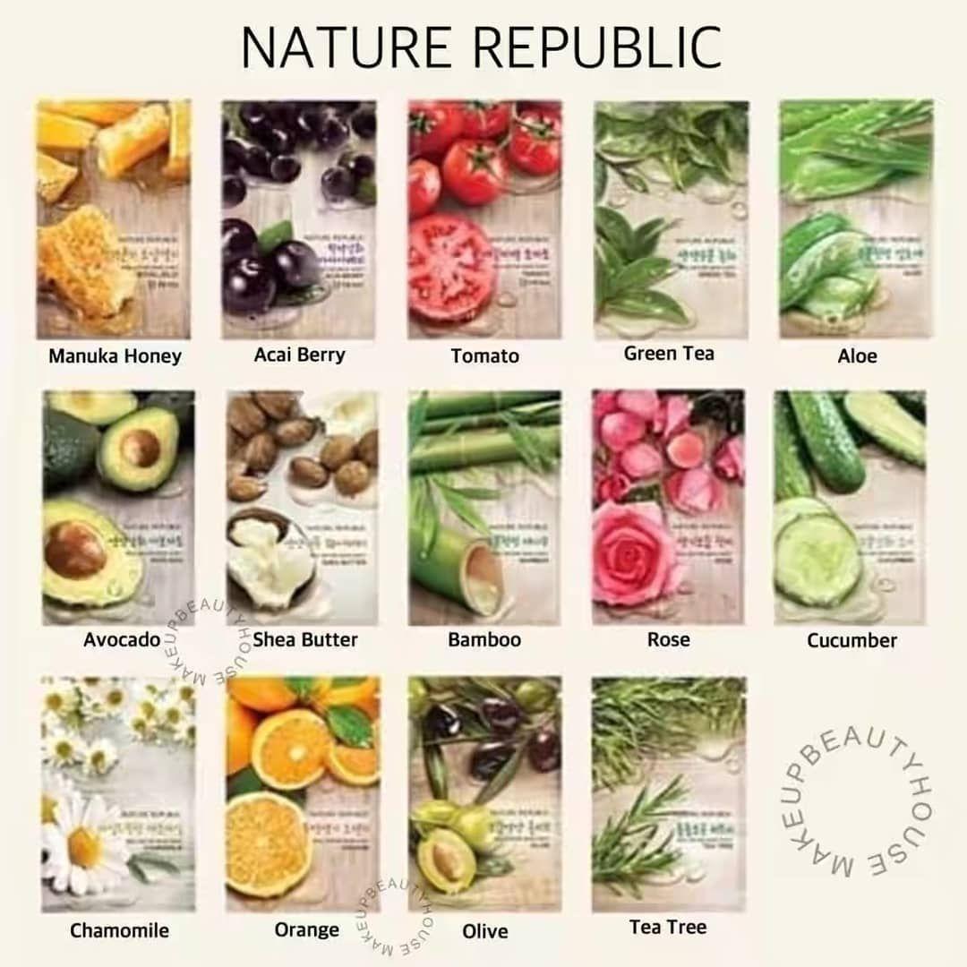Masker Sheet Nature Republic Bisa Untuk Jerawat