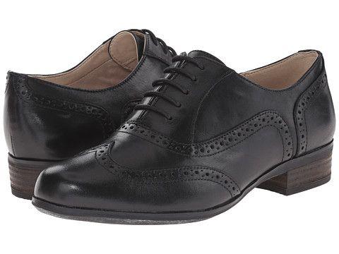 Clarks Hamble oak Laceup Shoes Color Black  Women