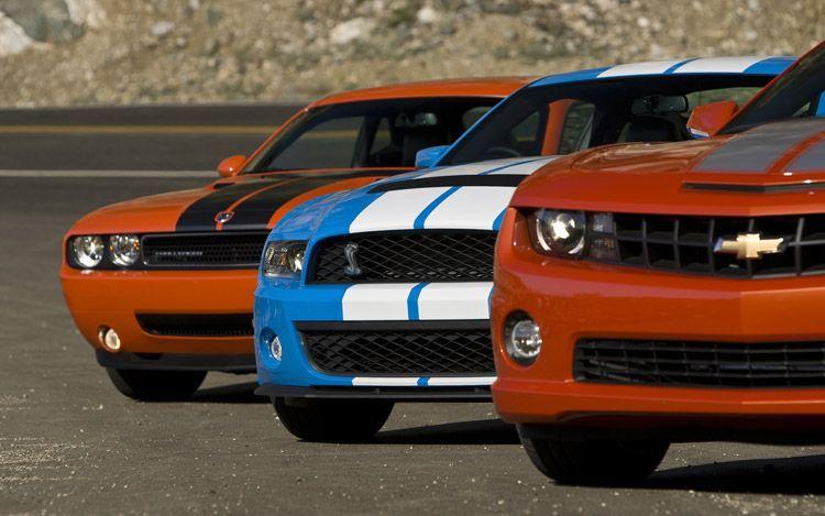 Chevrolet Camaro Hpe550 Vs Ford Shelby Gt500 Vs Dodge Challenger