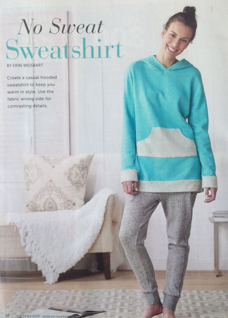Free pattern download instructions are in the magazine no sweat free pattern download instructions are in the magazine no sweat sweatshirt sew jeuxipadfo Image collections