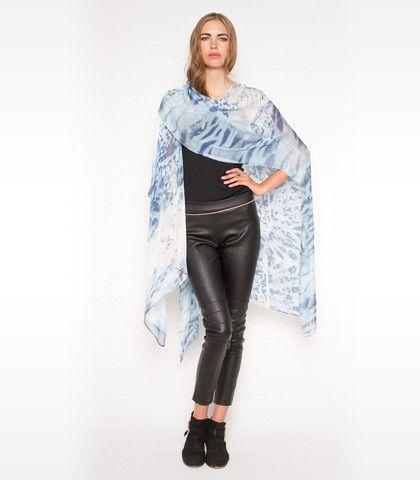 Fez Morning Light Kimono - Blue