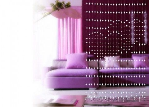 Cortinas de cuentas para separar ambientes | Decoration