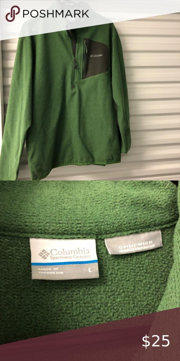 Columbia Pull Over Fleece